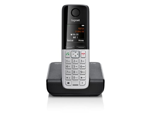 Gigaset C300 Dect-Schnurlostelefon, schwarz