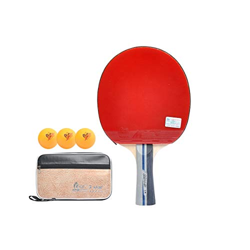 Best Prices! HXSD Table Tennis Racket, 5 Star Table Tennis Racket, Beginner, Training, Double-Sided ...