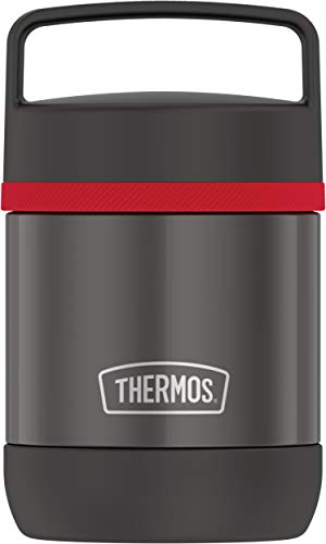 Thermos Stainless Steel Vacuum 10 Ounce handle Black Insulated Food Jar 10oz TS3050BK6