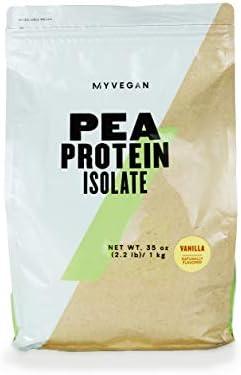 Myprotein MYVEGAN Pea Protein Isolate Powder Vanilla Stevia 2 2 Lb 35 Servings product image