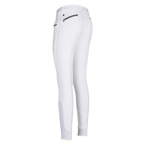 Euro-star Energizer FullGrip Pantalon d'équitation pour femme Blanc Taille 36