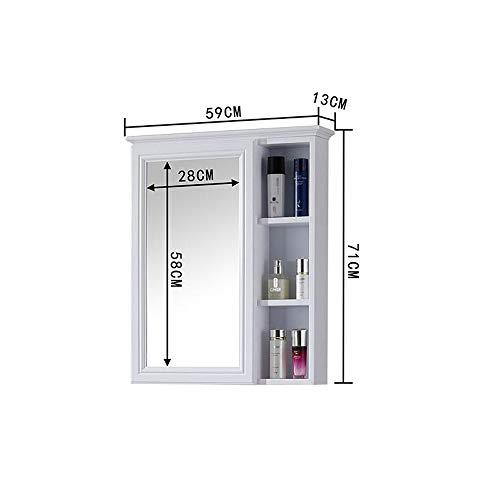 ZHANG HUA-tafellamp Z-H gemonteerd aan de muur van de badkamer, waterdicht, kast met spiegel