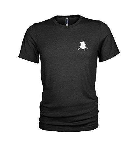 "Lunar Lander 1969 Moon Landing – Neil Armstrong ""The Eagle"" inspiriertes Herren-T-Shirt Gr. L, Schwarz"