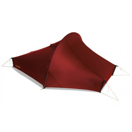 Nordisk Telemark 2 Light Weight tunnel tent red 2016 tube tent by Nordisk