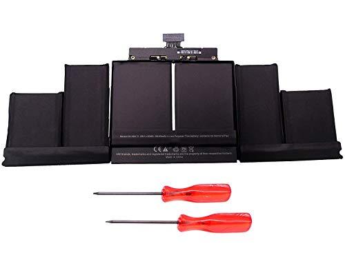 11.26V 95Wh Batteria A1494 per Apple MacBook 15'' Retina Display A1398 (Fine 2013 – Metà 2014) ME293 ME294 MGXA2LL/A MGXC2LL/A MGXG2LL/A Laptop Batteria