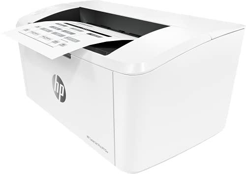 HP LaserJet Pro M15w W2G51A, Impresora A4 Monofunción Monocromo, Impresión a Doble Cara Manual, Wi-Fi, USB 2.0 de alta velocidad, HP Smart App, Apple AirPrint, Panel de control LED, Blanca