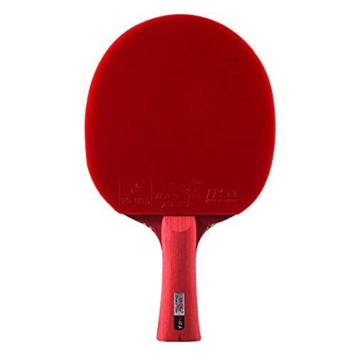 LINGOSHUN Raquetas de Ping Pong,Raquetas de Tenis de Mesa,Juego de Raqueta de Entrenamiento Para Juegos en Interiores y Exteriores / 3 Stars/Long handle