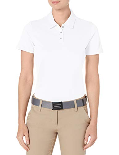 adidas Golf Tournament Short sleeve Polo, White