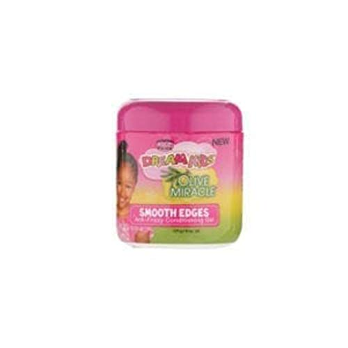 African Pride Dream Kids Smooth Edges Anti-frizzy Conditioning Gel, 6 Oz