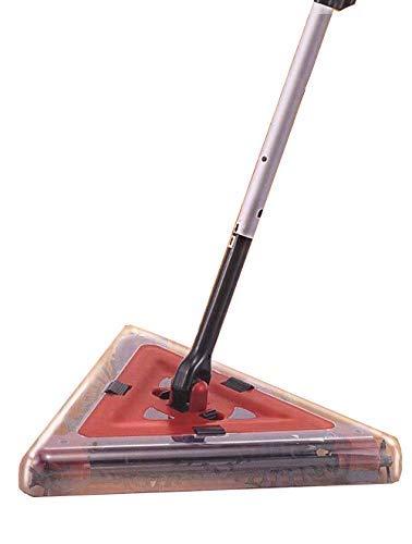 Flexi Sweeper, Akku-Delta Kehrbesen 4 tlg, kabellose elektrische Kehrmaschine, ideal für Bodenbeläge aller Art