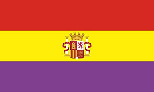 magFlags Bandera Large Segunda República Española | Bandera Paisaje | 1.35m² | 90x150cm