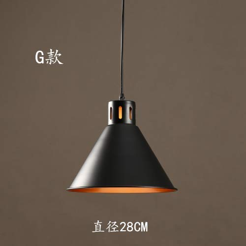 Hanglamp hanglamp A Vento Industrial Ristorante, Tea Shop, Bar, restaurant, koffie, kroonluchter, persoonlijkheid, creatief, Americano, Retro, hanglamp