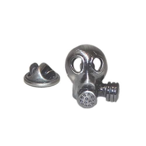 Gemelolandia   Anstecknadel für Gasmaske, originelle und preiswerte Anstecker zum Verschenken   für Hemden, Kleidung oder für Ihren Rucksack   lustige Details