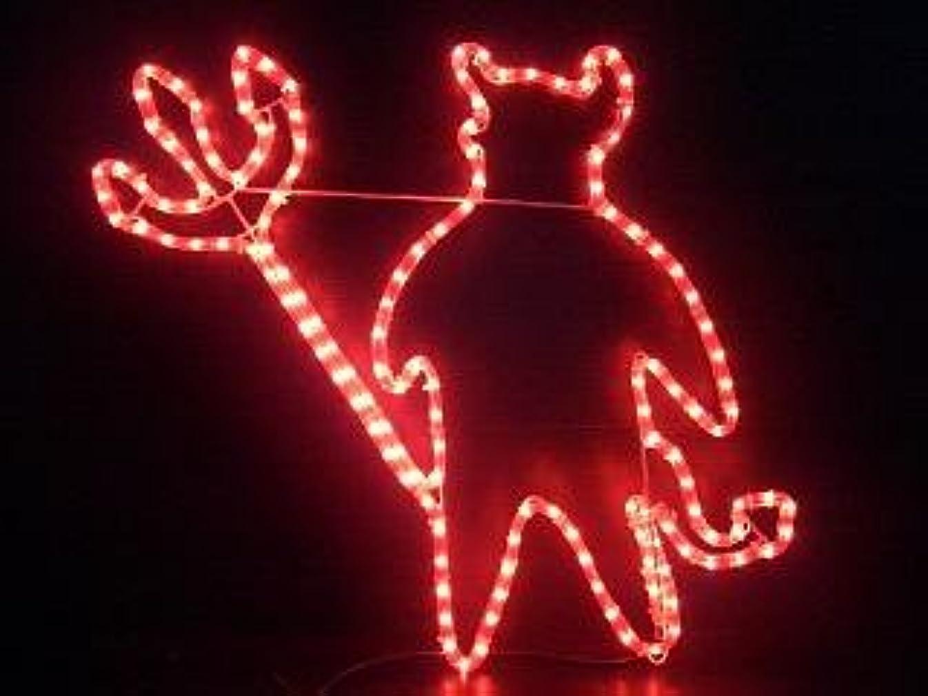 昼寝起こりやすいどこでもハロウィン イベント パーティー 小道具 悪魔 ハロウィーン イルミネーション 白熱球 デビル モチーフライト