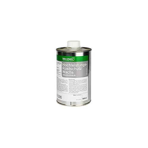 Bio-Chem Hochleistungs-Rostschutz Wachs 500 ml Langzeit-Korrosionsschutz