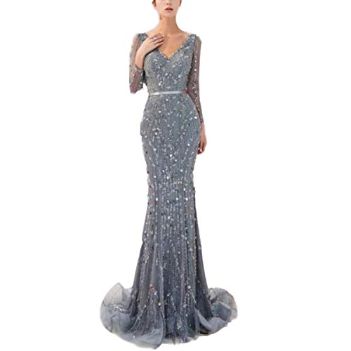 FTFTO Wohnaccessoires Spitzenhemd mit V-Ausschnitt Taille Reißverschluss Party Ballsaal Kleid Braut für Braut fz XXXL