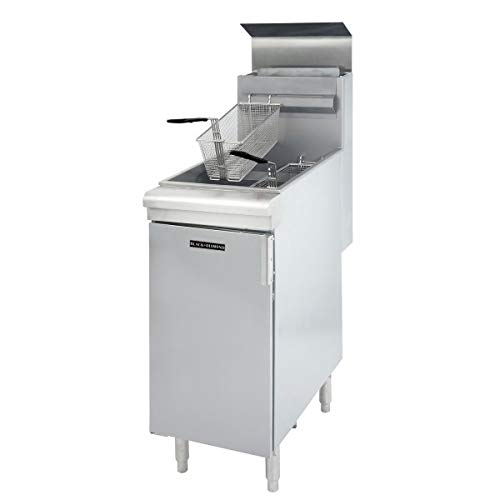 Great Deal! Adcraft BDGF-120/LPG Black Diamond Floor-Standing Fryer, 120,000 BTU, Liquid Propane