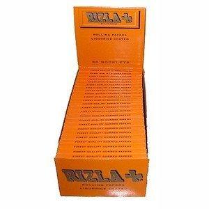 Rizla 2500 Liquorice Drehpapier, 50 Heftchen