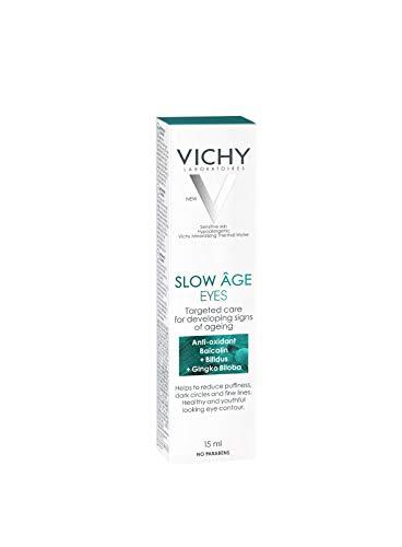 VICHY Slow Age Contorno de Ojos, Incoloro, Fresh, 15 Ml