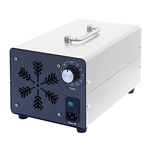 GXXDM Generador de ozono Purificador de Aire portátil Comercial e Industrial O3, Desodorante y esterilizador - Eliminador de olores con Temporizador para el hogar, la Oficina, el Hotel,