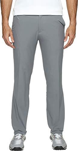 adidas - Pantaloni da Golf Adi Ultimate 365, Colore: Nero, Uomo, Adi Ultimate 365, Pantaloni Tinta Unita, AF171007, Vista Grey, 33W / 34 L