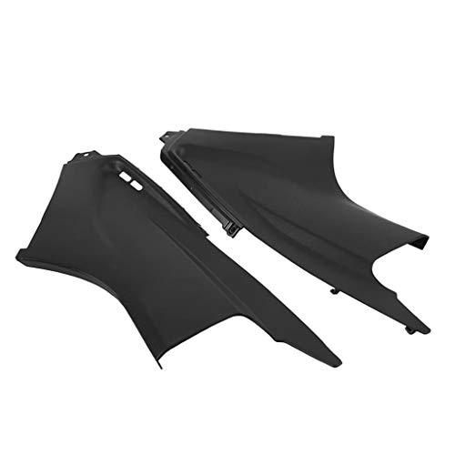 prasku Deflectores de Carenado de Aire para Motocicleta Negro para Yamaha YZF R6 03-05