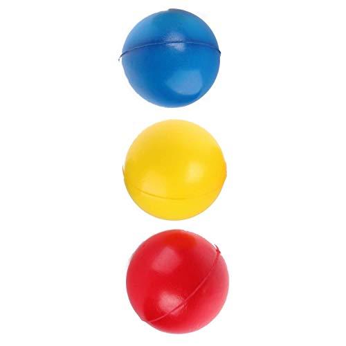3 pelotas saltando