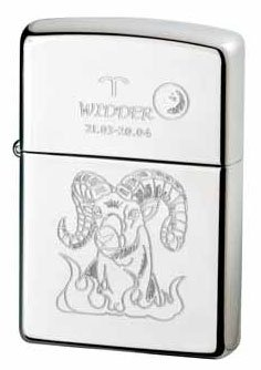 Zippo briquet collection zodiac bélier