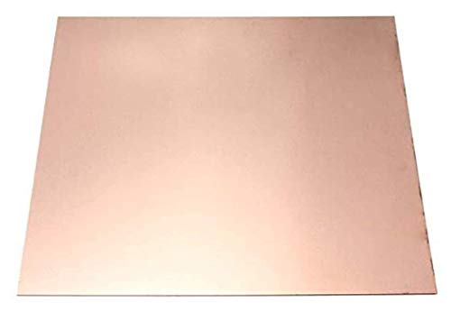 NIANXINN Placa de Cobre Pura Placa de Cobre Hoja de Cobre T2 Hoja de Metal Hoja de Cobre Materiales industriales de enfriamiento de Cobre 55 * 100 * 5mm Hoja de Cobre Puro