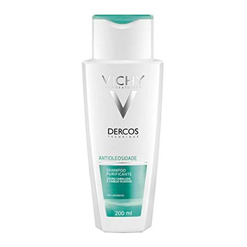 Dercos - Champú Sebo, regulador 200 ml para cabello graso