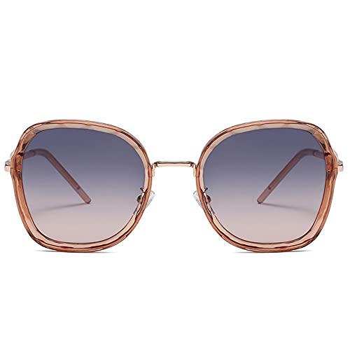 YUN Gafas de Sol para Mujer-Gafas de Sol de de Moda para Mujer, Gafas de Sol UV400 para y Mujer, Ajuste cómodo y Seguro sobre Gafas de Sol para conducción y al Aire Libre