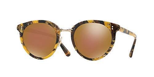 Oliver Peoples zonnebril SPELMAN OV 5323S door ALAIN MIKLI PALMIER SOLIL/GOUD BRONS 50/22/145 dames