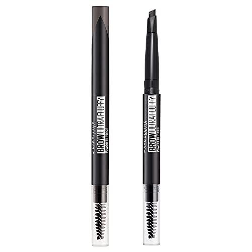 MAYBELLINE(メイベリン) ファッションブロウ パウダーインペンシル N アイブロウ 単品 BK-1 自然な黒 1個 (x 1)