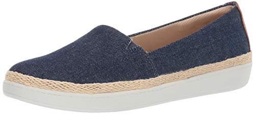 Trotters Women's Accent Penny Loafer, Blue Jeans, 7.5 M US
