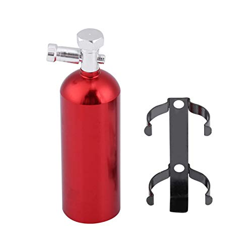 Drfeify Mini extintor de Incendios RC Piezas de decoración de Coche de Alta simulación aptas para CC01/SCX10/TRX-4/D90 RC Crawler Car