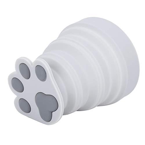 FOLOSAFENAR avec Tasse en Silicone Motif Griffe de Chat de Dessin animé 200 ML Tasse de Pique-Nique, Parfaite pour Le ménage, Le Camping en Plein air, Les Voyages, Le Pique-Nique