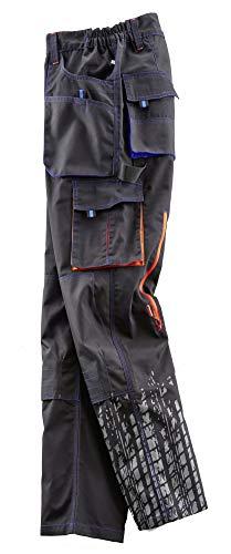 Terrax Workwear 20392-50-1074 Hose, Schwarz, Marine, 50