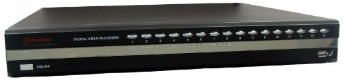 Aleph Dx16 Video Monitoring and Surveillance 16-Channel DVR, Black by Aleph