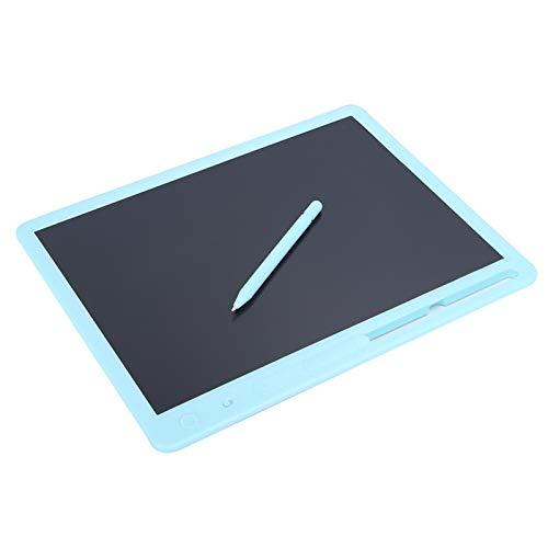 Tablero De Dibujo, Tablero De Escritura LCD De 15 Pulgadas, Borrado Con Una Tecla, Colorido, Negrita, Escritura a Mano, Electrónica Inteligente Para Niños, Para Escribir, Dibujar Y Calcular(azul)