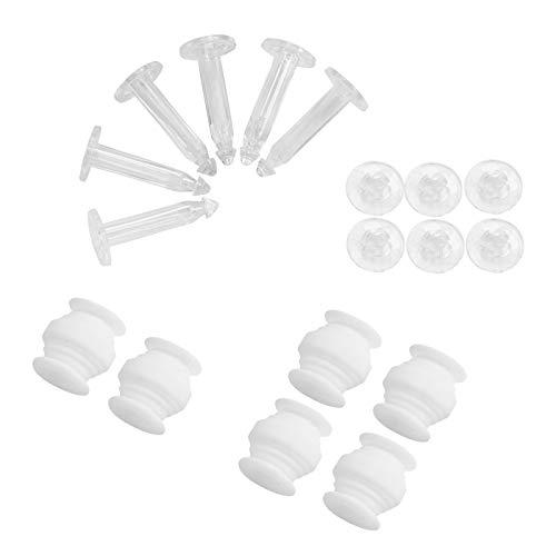 Mengonee Dämpfende Gummibälle Anti-Drop-Pins Kit Gimbal Anti Vibrationsplatte Ersatzteile für DJI Phantom 3