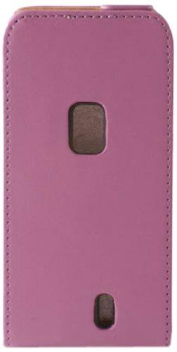 Ksix B3432FU90PR - Funda con tapa para Sony Ericsson Xperia neo, púrpura