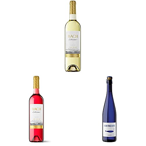 Bach Extrísimo Vino Blanco Semidulce + Vino Rosado Semidulce + Vino Frizzante - 3x75cl