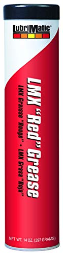 Plews & Edelmann LubriMatic 11390 LMX 'Red' High-Performance Grease, 14 oz. Cartridge
