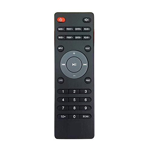 REMOTEX Elite Sharp Plus Remote for iBall Home Theatre (Black)