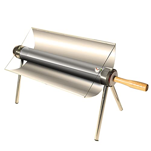 304 Stainless Steel Solar Oven, Portable Foldable Solar BBQ Grill, Outdoor Camping Barbeque Cooking Food Concentrating Heat Tool, Solar Cooker for backpacking and hiking