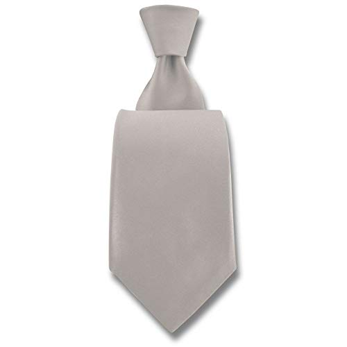 Robert Charles - Cravate Satin Ivoire Fines : 7.5cm