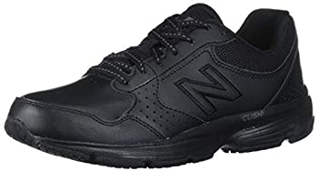 New Balance Women's 411 V1 Walking Shoe, Black/Black, 9 W US