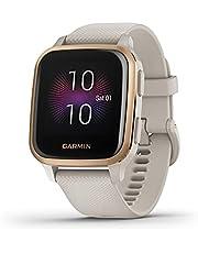 Garmin Venu Sq - Music Edition Sand/Roséguld - Smartwatch