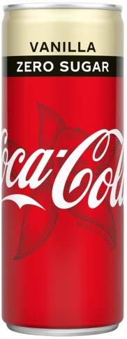 Coca Cola Zero Vanilla (24 x 0,25 L Dosen) EINWEG inkl. gratis FiveStar Kugelschreiber