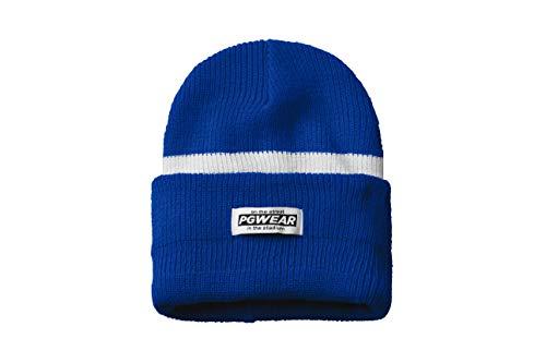 PGwear Mütze und Sturmhaube Troublemaker in blau weiß